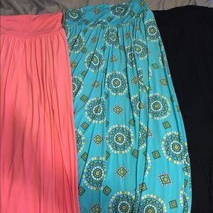 NY&Co and Bobeau maxi skirt bundle